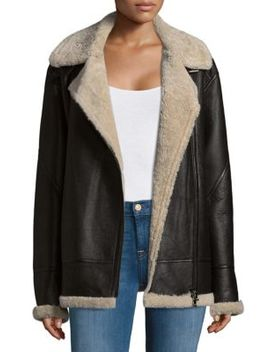 Shearling Jacket by Dominic Bellissimo