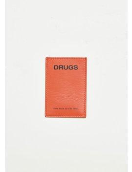 Printed Cardholder by Raf Simons