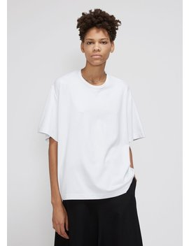 Back Shifted T Shirt by Melitta Baumeister