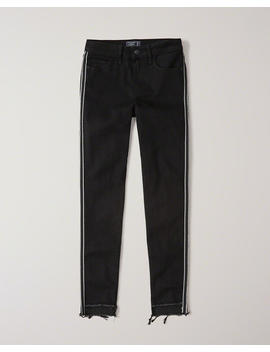 Low Rise Ankle Jeans by Abercrombie & Fitch