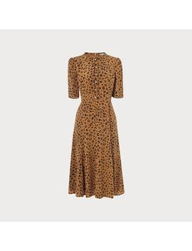 Montana Animal Print Dress by L.K.Bennett