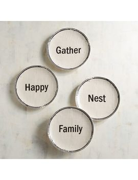 Our Nest Appetizer Plates Set by Pier1 Imports