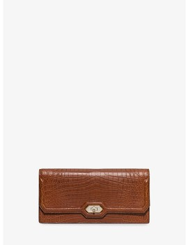 Harlington Crocodile Clutch by Michael Kors Collection