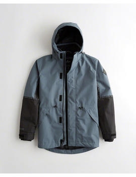 Mesh Lined Parka by Hollister