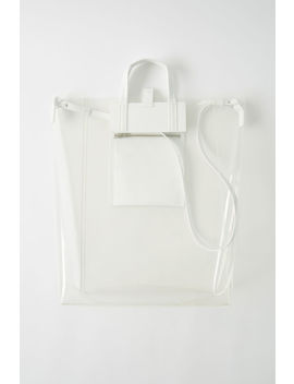 Tote Bag Transparent by Acne Studios