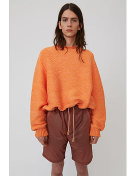 Chunky Sweater Orange by Acne Studios