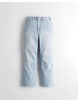 Vintage Stretch Ultra High Rise Straight Jeans by Hollister