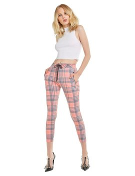 Sweetheart Plaid Demi Leggings by Wilfdox