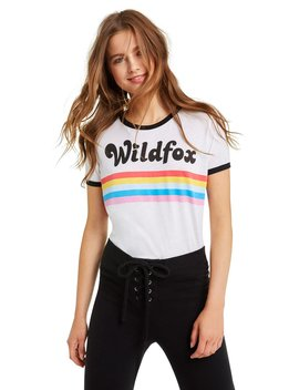 Striped Wildfox Johnny Ringer Tee by Wilfdox