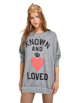 Known And Loved Roadtrip Sweater by Wilfdox