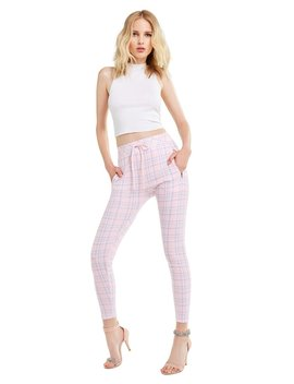 Pastel Plaid Demi Legging by Wilfdox