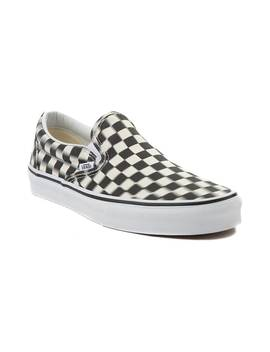 Vans Slip On Blur Chex Skate Shoe by Vans
