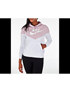 Women's Nike Sportswear Heritage Fleece Hoodie by Nike