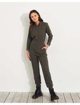 Utility Jumpsuit by Hollister