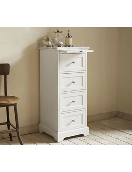 Marble Top Sundry Tower by Pottery Barn