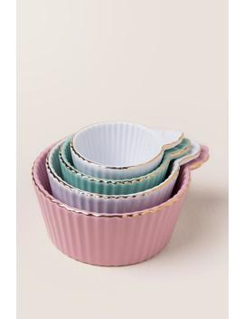 Cupcake Measuring Cup Set by Francesca's