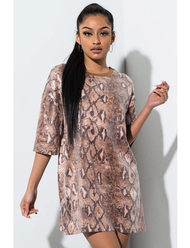 Take It To The Max Sequin Snake Top by Akira