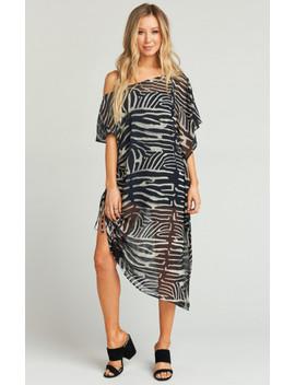 Marina Maxi Dress ~ Zebra King by Show Me Your Mu Mu