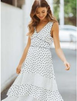 Serena Spot Mix Dress by Forever New
