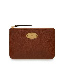 Mulberry Plaque Small Zip Coin Pouch by Mulberry