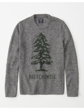Heritage Logo Sweater by Abercrombie & Fitch