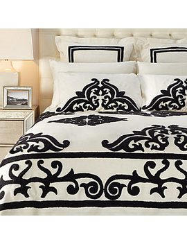 Remy Bedding   Black by Z Gallerie