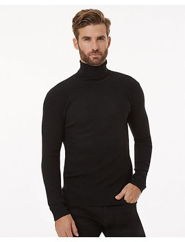 Viscose Blend Turtleneck Sweater by Le Chateau