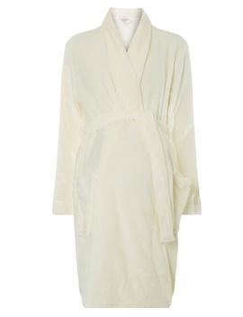 **Maternity Cream Robe by Dorothy Perkins