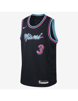 Dwyane Wade City Edition Swingman (Miami Heat) by Nike