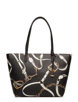 Vegan Leather Top Zip Tote Tte Med by Lauren Ralph Lauren