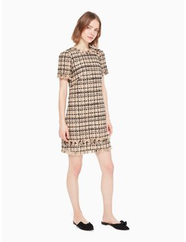 Bi Color Tweed Dress by Kate Spade