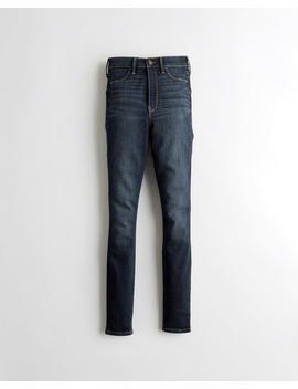Leggings Taille Ultra Haute En Jean Advanced Stretch by Hollister