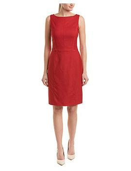Brooks Brothers Wool Blend Sheath Dress by Brooks Brothers