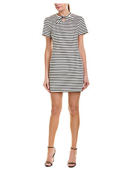 English Factory Striped Shift Dress by English Factory