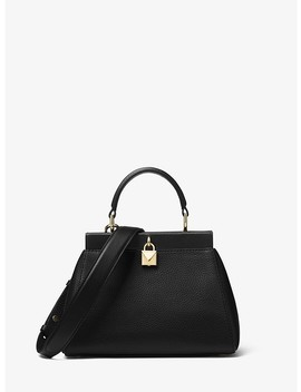 Gramercy Small Pebbled Leather Frame Satchel by Michael Michael Kors