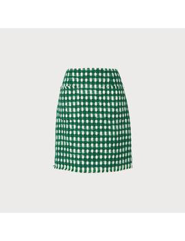 Tammy Green Tweed Skirt by L.K.Bennett