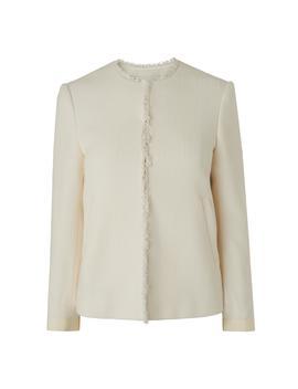 Hazel Cream Tweed Jacket by L.K.Bennett