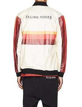 "Washed ""Paper"" Bomber Jacket by Filling Pieces"