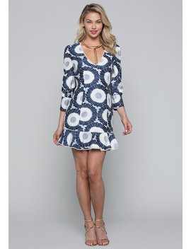 Sunfloral Mini Dress by Bebe
