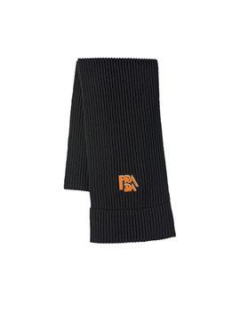 Wool Scarf With Logo by Prada