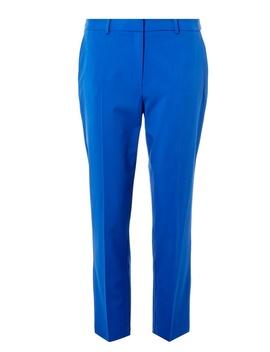 Cobalt Split Hem Ankle Grazer Trousers by Dorothy Perkins