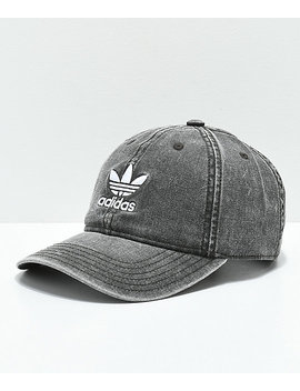 Adidas Women's Originals Black &Amp; White Strapback Hat by Adidas