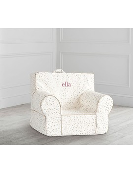 My First Ivory Foil Star Anywhere Chair® by Pottery Barn Kids
