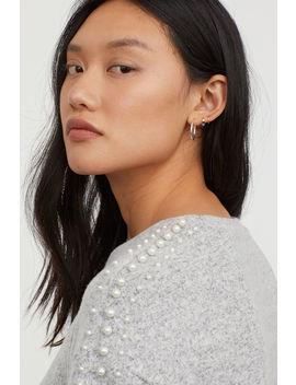 Shirt Mit Perlen by H&M