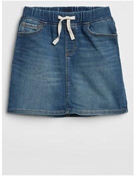 Denim Skirt With Fantastiflex by Gap