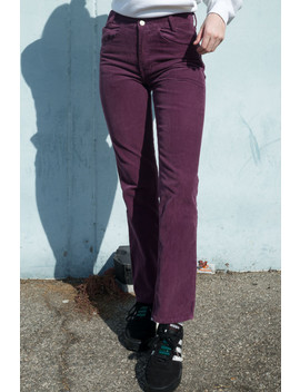 Jada Corduroy Pants by Brandy Melville