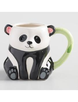 Hand Painted Panda Figural Mug by World Market