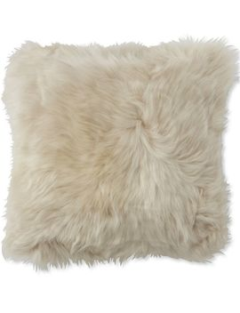 Sheepskin Throw Pillow, Square by L.L.Bean