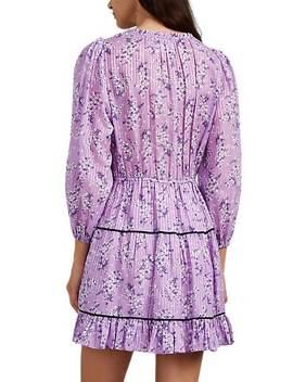 Brienne Floral Cotton Silk Dress by Ulla Johnson