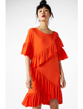 Soft Ruffled Dress by Monki